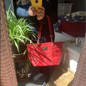 Calvin Klein coral messanger medium Hand bag